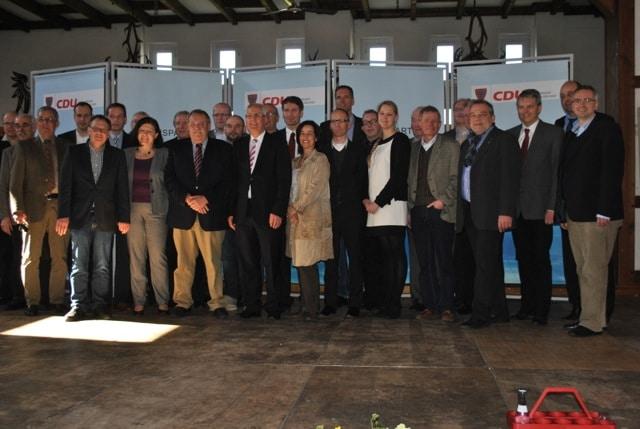Ein starkes Team: Unsere Kandidatinnen und Kandidaten für den Kreistag und Landrat Dr. Karl Schneider