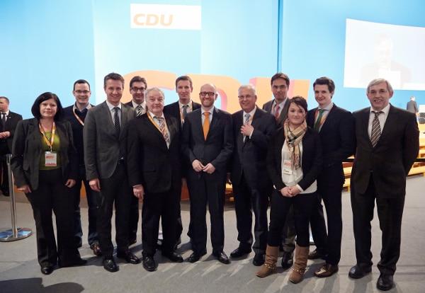 Sauerländer Delegierte auf dem Bundesparteitag